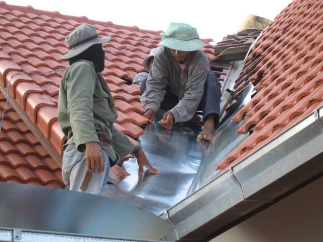 Roof Valley Repair
