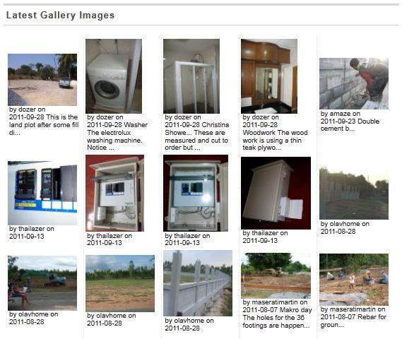 Display CPG Thumbnails