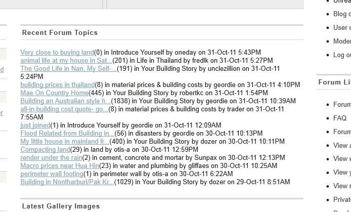 phpBB topics portal